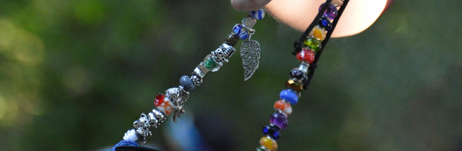 About Us - Camp bead tradition - Beads earned for knowledge, skills and memories