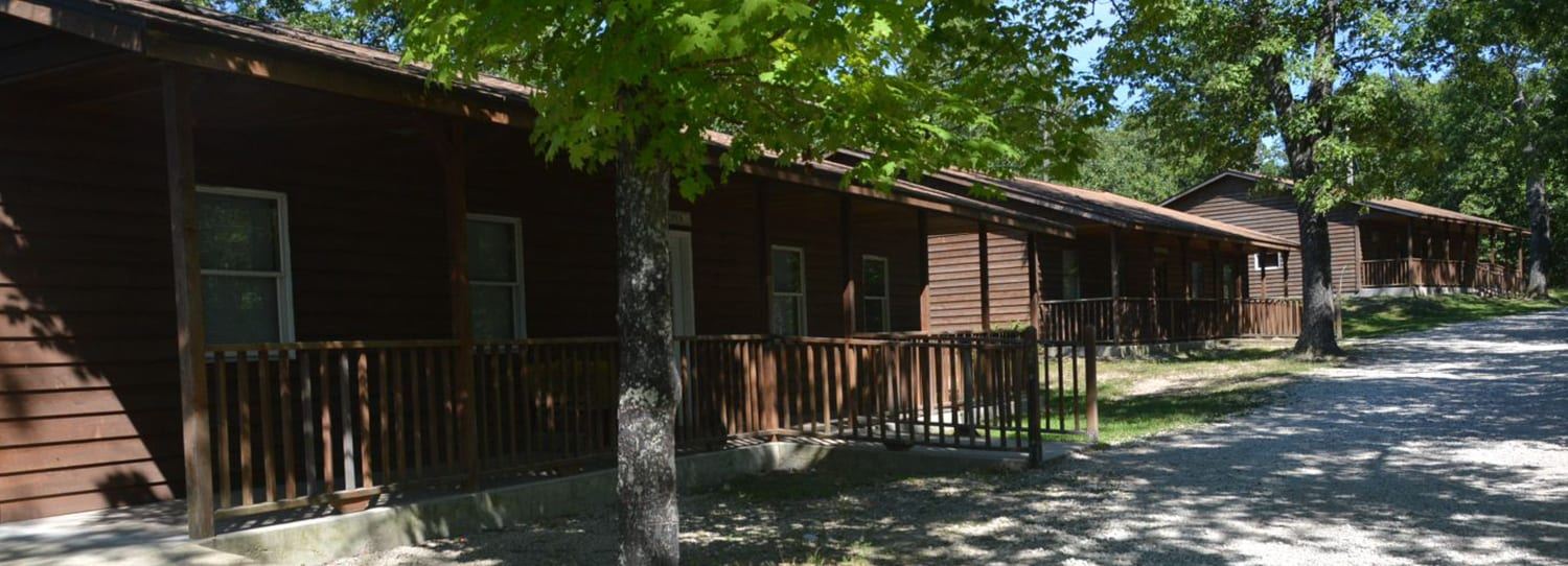 Cabin Life - Cabin exteriors girls village - Cub Creek Science and Animal Camp
