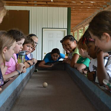 Camp Activities - Free Time - Cub Creek Science and Animal Camp