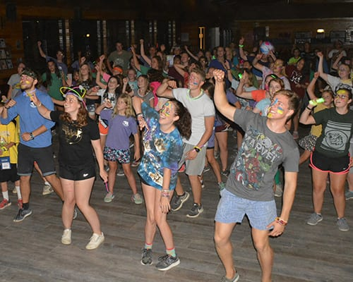 Early Birds & Night Owls - Campers Just Dance night owl - Cub Creek Science and Animal Camp