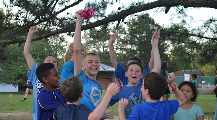 Evening Activities - Capture the Flag - Cub Creek Science and Animal Camp