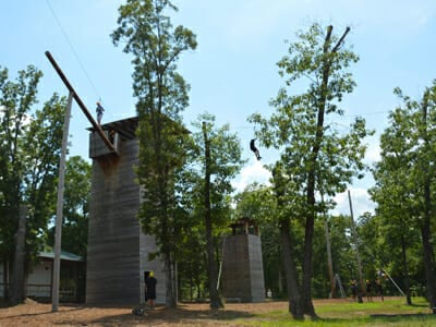 Facility Photo Gallery Anchor - Ropes Course Facility - Cub Creek Science and Animal Camp