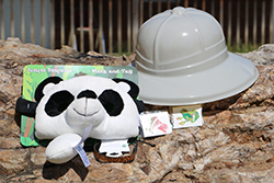 Rain forest Rescue Care Package <br> Includes: Jungle Disguise Mask, Animal <br> Bracelet, Animal Tattoo, Safari Hat - $11.00