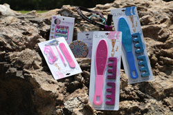 Girls Night Care Package <br> Includes: Camp Tattoos, Lemur Bracelet, <br> Assorted Friendship Bracelets, Mani Kit, <br> 2 Pedi Kits, Cub Creek Headband, <br>  Hand Mirror, Nail Polish - $16.00