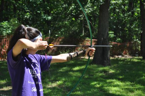 Archery Activity - Cub Creek Science and Animal Camp