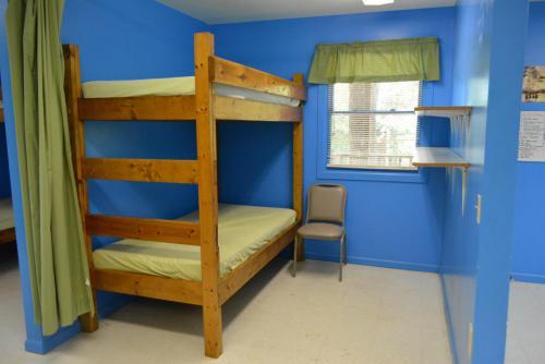 Cabin Interior Bunks - Cub Creek Science and Animal Camp