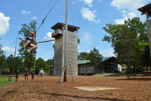 Ropes Course Facility - Cub Creek Science and Animal Camp