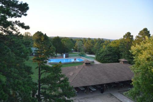 Overlooking Camp Facility - Cub Creek Science and Animal Camp