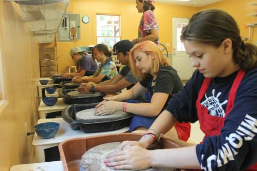 Pottery studio - Cub Creek Science Camp