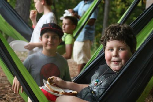 Boys Campout - Cub Creek Science Camp