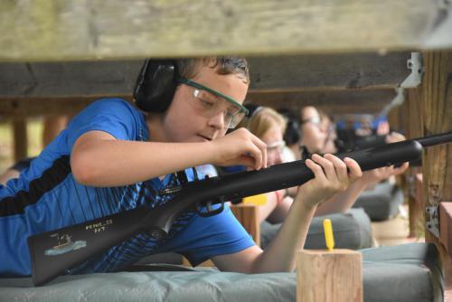 Riflery Activity - Cub Creek Science and Animal Camp